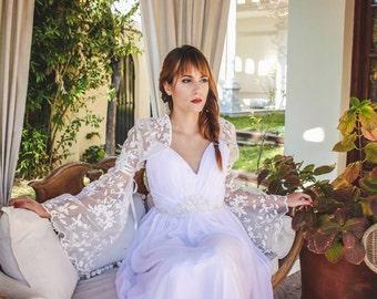 Wedding lace bolero, bridal lace top, wedding top, bridal cover up, wedding jacket, shurug