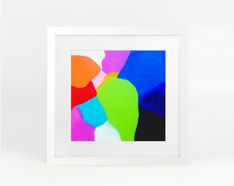 Jelly Bean - abstract art print