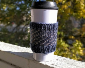Coffee cozy sleeve made to order available in many colors