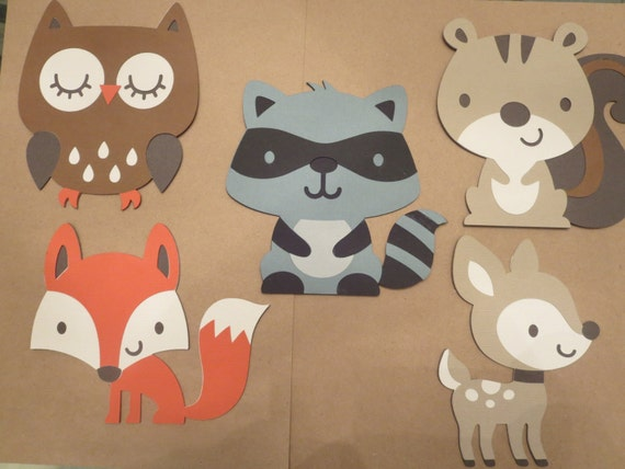 This is a graphic of Striking Animal Cutouts Printable