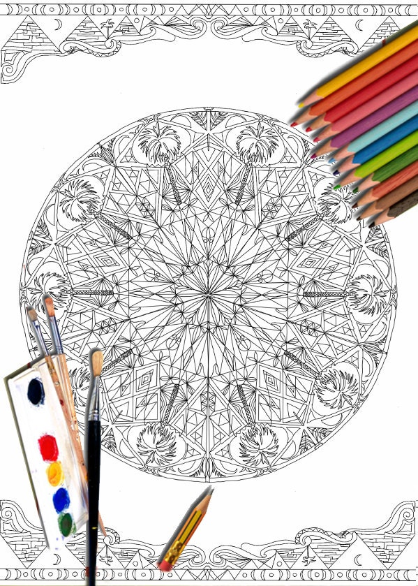 mandala coloring pages as therapy - photo#37