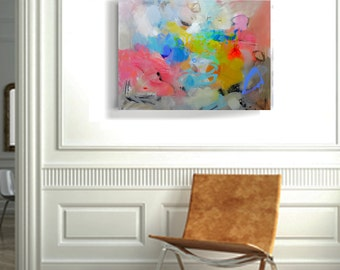 Wall art on canvas Original abstract acrylic painting Large wall art canvas Modern Art Abstract Painting Original art work Living Room Decor