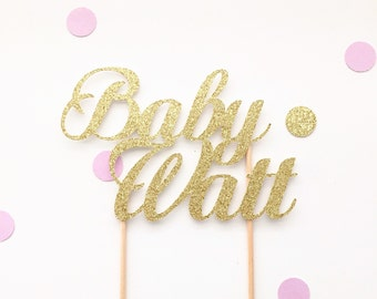 Custom baby shower cake topper