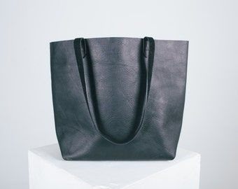 The LUXE Leather Tote