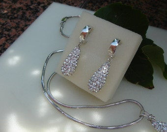 925 Silver Earring for the big show! Glamorous!