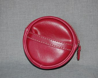 Leather Pocket Pouch ~ Vintage
