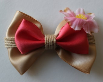 Hawaiian Oahu Princess Moana Inspired Bow