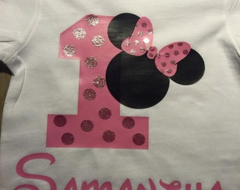 Disney Inspired Birthday Shirt