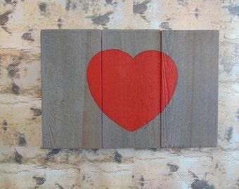 Simple Heart Valentine's Day Home Decor
