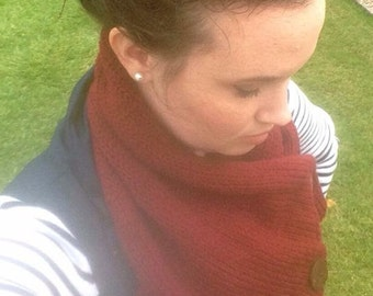 Three Button Cowl