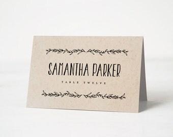 Wedding Place Cards – Etsy