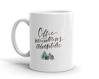 Coffee Mountains Adventure Mug