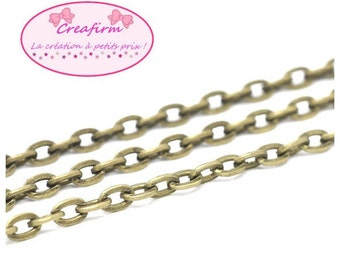 10 m chain Antique Bronze 4.5x3mm