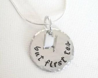 Tea lovers necklace