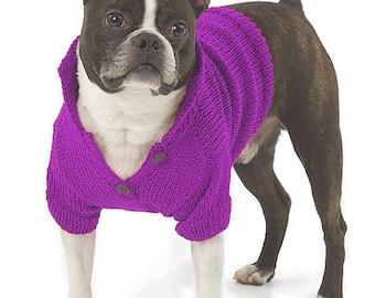 Basic Knitting Patterns For Dog Sweaters : Dog sweater patterns Etsy