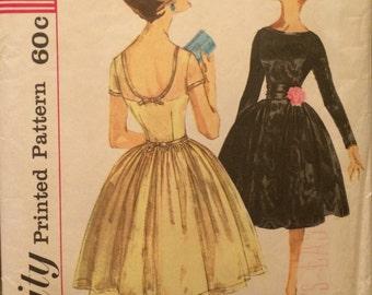 Beautiful Evening Dress Pattern Simplicity 3219