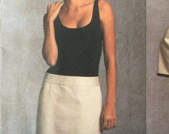 Vogue American Designer Pattern V1028 by Donna Karan