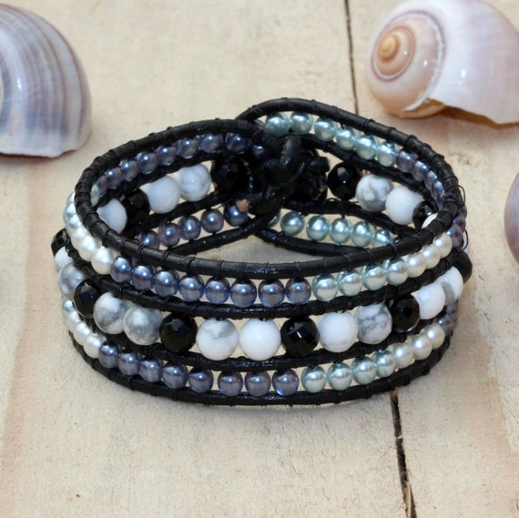 beaded wrap bracelet beaded bracelets for women beaded