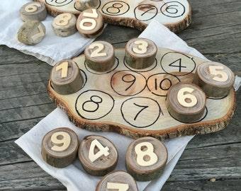 10 Number Cookies & Board