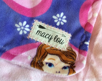 Disney Jr. Sofia the First Baby/Toddler Blanket