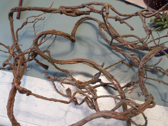 Natural Twig Garland Beach Centerpiece Wedding Table