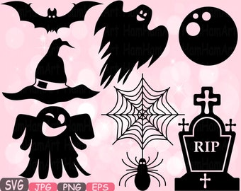 Halloween Trick Or Treat SVG Cutting Files SVG Witch Witches boo cut file Silhouette Clipart sign icons Cricut Design cameo vinyl  487S