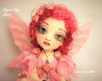 Pink fairy. Made to order.