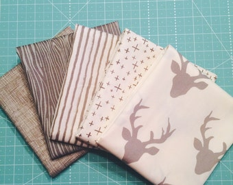 One Yard Bundle Knock on Wood by Deena Rutter for Riley Blake Designs - 5 Fabrics