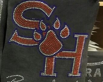 Sam Houston Rhinestone shirt