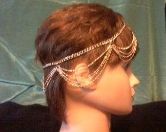 Hair band, hair chains