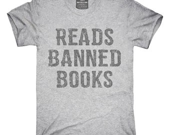 Reads Banned Books T-Shirt, Hoodie, Tank Top, Gifts