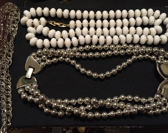 Vintage Napier Jewelry Necklaces