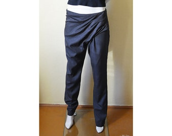 Beautiful indian style pants, unique pants, hot trousers, stylish pants, modern women's pants, women's baggy pants, long legs, handmade 17