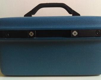 Vintage Samsonite Blue Train Case/Traincase.