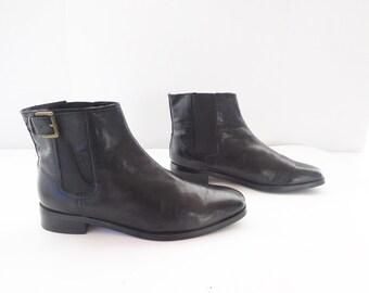 Ralph Lauren black   Chelsea ankle boots size 8.5M
