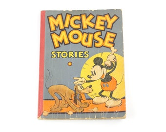 Vintage Mickey Mouse Stories Book #2