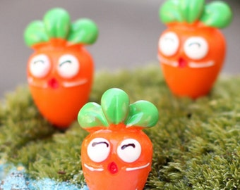 Fairy Vegetable Garden Carrots ~ Set of Two