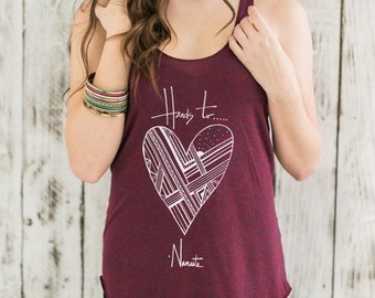 Hands to heart...Namaste... red yoga tank top- yoga shirt- yoga tank tank- racerback tank top- yoga shirt- namaste tank top- yoga heart tank