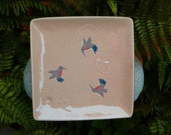 Hummingbird Platter