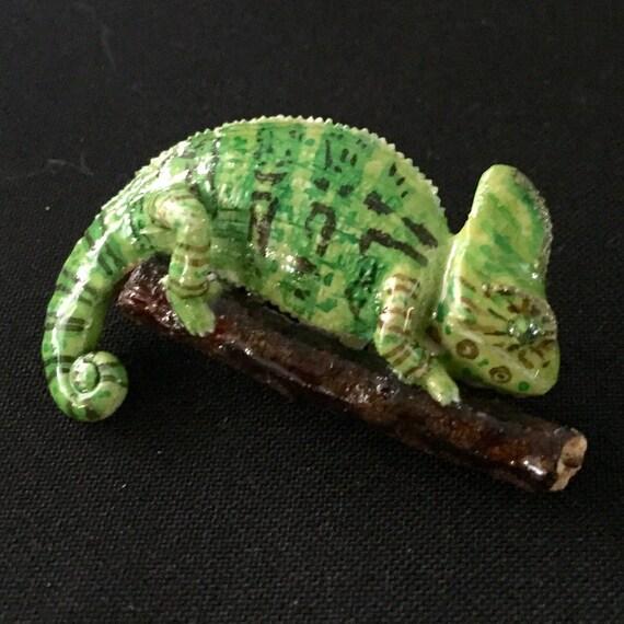 Veiled Chameleon Figurine