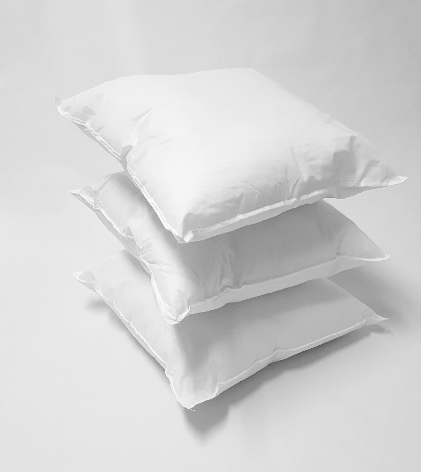 18 x 18 poly cotton pillow inserts pillow forms for pillow. Black Bedroom Furniture Sets. Home Design Ideas