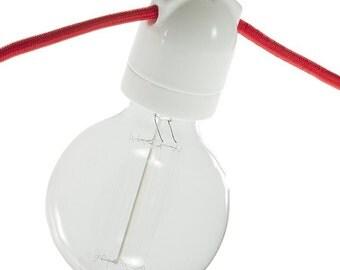 Socket porcelain dual output