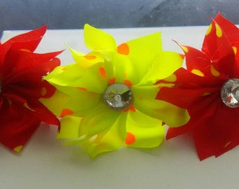Colorful hair clip
