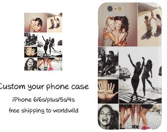 Free Shipping-Custom iPhone 7 Case-Personalized phone case-iPhone 6/6S case-iPhone 5 SE Case-iPhone 6 Plus Case-Samsung and more models