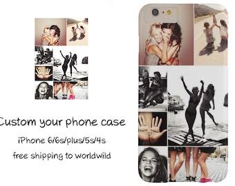 Custom Phone Case, Personalized phone case, Custom iPhone 6S case, IPhone 6 Case, iPhone 5s Case, iPhone 6 Plus Case, Custom iPhone case