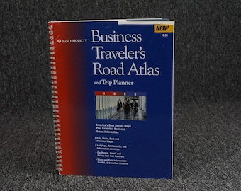 Business Travelers Road Atlas And Trip Planner