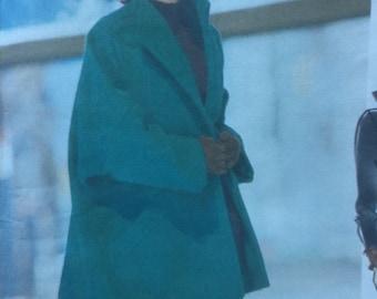 """Jacket, Top & Pants by Jennifer George - 1990's - Vogue Attitudes Pattern 2562 Uncut Sizes 18 -20 - 22 Bust 40-44-46"""", Uncut"""