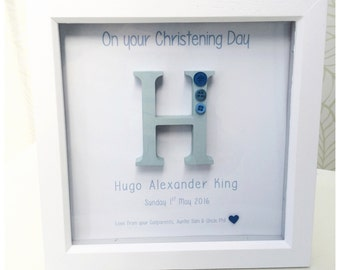 Personalised Letter Frame (8x8)