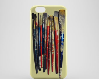 Artist Paint Brushes Phone case,  iPhone X Case, iPhone 8 case,  iPhone 6s,  iPhone 7 Plus, IPhone SE, Galaxy S8 case, Phone cover, SS136b