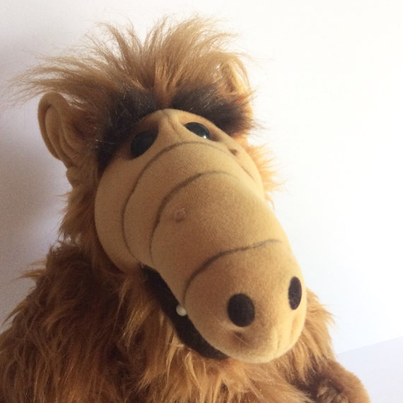 Retro Alf Doll 1980's Alien From The Planet By Realsimpledeals